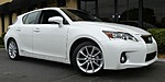 USED 2013 LEXUS CT 200H HYBRID in TAMPA , FLORIDA