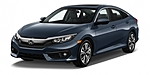 NEW 2017 HONDA CIVIC EX-T in ORLAND PARK, ILLINOIS