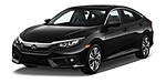 NEW 2017 HONDA CIVIC EX-L in ORLAND PARK, ILLINOIS