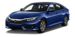 NEW 2017 HONDA CIVIC EX in ORLAND PARK, ILLINOIS