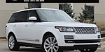USED 2015 LAND ROVER RANGE ROVER SUPERCHARGED in NORTHFIELD, ILLINOIS