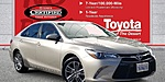 USED 2017 TOYOTA CAMRY SE in CATHEDRAL CITY, CALIFORNIA