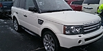USED 2009 LAND ROVER RANGE ROVER SPORT SUPERCHARGED 4X4 4DR SUV in GREENWOOD, INDIANA