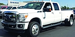 USED 2015 FORD F-450 DUALLY DIESEL LARIAT CREW CAB 4X4 in MACOMB, MICHIGAN