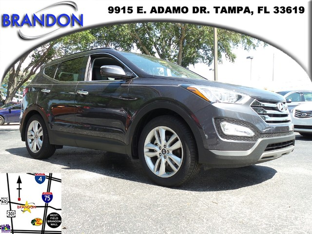 2016 HYUNDAI SANTA FE SPORT  Electronic Stability Control ESCABS And Driveline Traction Contro