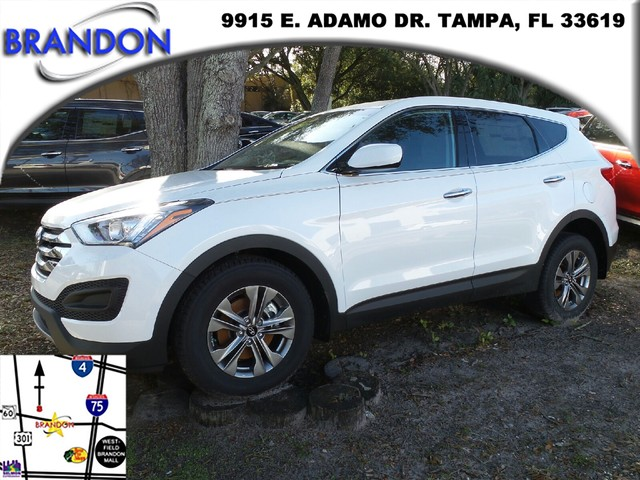 2016 HYUNDAI SANTA FE SPORT   the options and features include   7 miles VIN 5XYZT3LB9GG376
