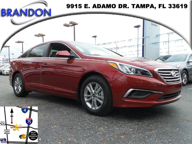 2016 HYUNDAI SONATA 24L SE  Side Impact BeamsDual Stage Driver And Passenger Seat-Mounted Side