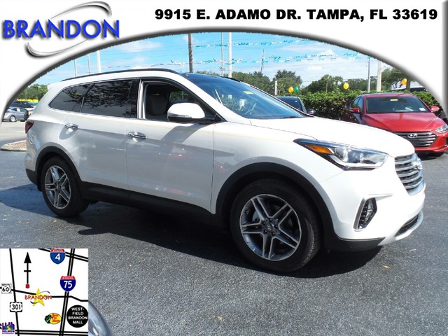 2017 HYUNDAI SANTA FE SE ULTIMATE  Electronic Stability Control ESCABS And Driveline Traction