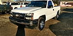 USED 2006 CHEVROLET SILVERADO 1500 WORK TRUCK 2DR REGULAR CAB 4WD 6.5 FT. SB in LANCASTER, OHIO