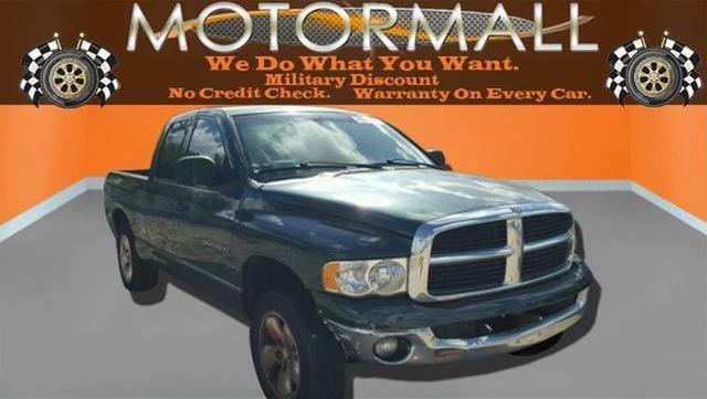 USED 2002 DODGE RAM 1500 ST QUAD CAB LONG BED 2WD in JACKSONVILLE, FLORIDA