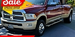 USED 2014 RAM 3500 LARAMIE LONGHORN 4X4 4DR CREW CAB 8 FT. LB DRW PIC in MIAMI, FLORIDA
