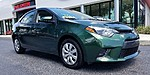 USED 2016 TOYOTA COROLLA 4DR SDN CVT LE in LIGHTHOUSE POINT, FLORIDA