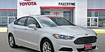 USED 2016 FORD FUSION SE in PALESTINE, TEXAS