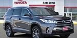 NEW 2018 TOYOTA HIGHLANDER XLE in PALESTINE, TEXAS