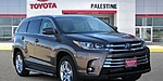NEW 2019 TOYOTA HIGHLANDER LIMITED in PALESTINE, TEXAS