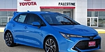 NEW 2019 TOYOTA COROLLA XSE in PALESTINE, TEXAS