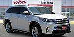 NEW 2019 TOYOTA HIGHLANDER LIMITED V6 in PALESTINE, TEXAS