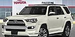 NEW 2019 TOYOTA 4RUNNER LIMITED in PALESTINE, TEXAS