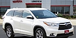 USED 2015 TOYOTA HIGHLANDER XLE in LONGVIEW, TEXAS