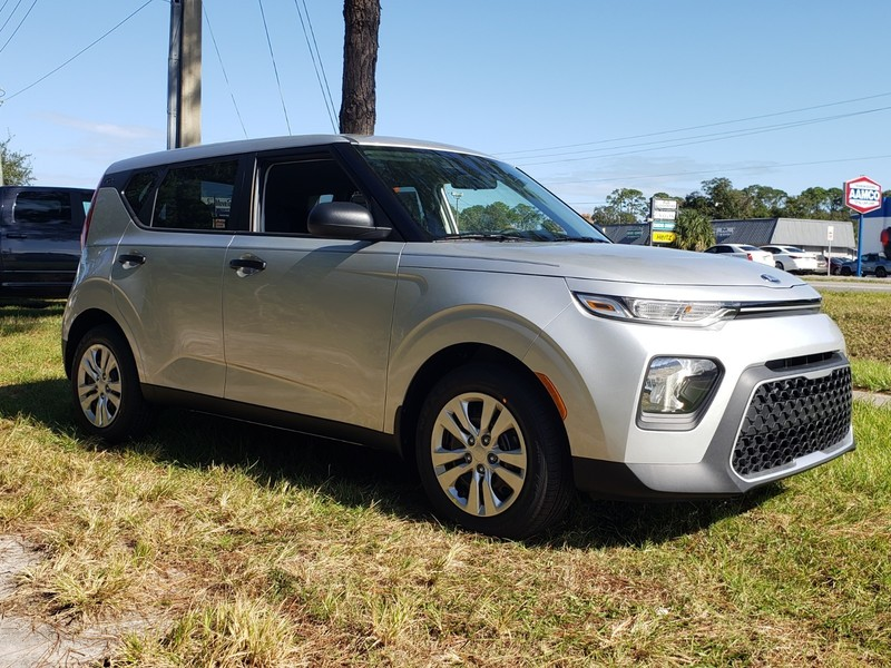 NEW 2021 KIA SOUL LX MANUAL in ST. AUGUSTINE, FLORIDA