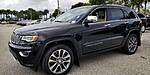 USED 2017 JEEP GRAND CHEROKEE OVERLAND 4X2 in WEST PALM BEACH, FLORIDA