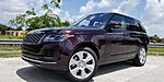 NEW 2019 LAND ROVER RANGE ROVER 3.0L V6 SUPERCHARGED HSE in WEST PALM BEACH, FLORIDA