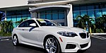 USED 2016 BMW 2 SERIES 228I in WEST PALM BEACH, FLORIDA