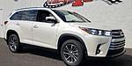 NEW 2019 TOYOTA HIGHLANDER XLE V6 AWD in RAINBOW CITY, ALABAMA