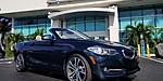 USED 2017 BMW 2 SERIES 230I CONVERTIBLE in JUPITER, FLORIDA