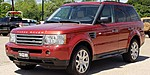 USED 2009 LAND ROVER RANGE ROVER SPORT 4WD 4DR HSE in TYLER, TEXAS
