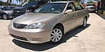 USED 2005 TOYOTA CAMRY LE 4DR SEDAN in WEST PALM BEACH, FLORIDA