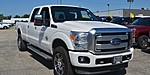 """USED 2014 FORD F-350 4WD CREW CAB 172"""" PLATINUM in ANTIOCH, ILLINOIS"""
