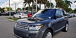 USED 2016 LAND ROVER RANGE ROVER 4WD 4DR SUPERCHARGED in MARGATE, FLORIDA