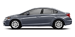 USED 2012 HONDA CIVIC 4DR AUTOMATIC EX in AUBURN, ALABAMA