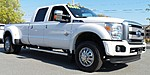 USED 2015 FORD F-350 SD PLATINUM DRW in NORTH LITTLE ROCK, ARKANSAS