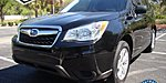 USED 2015 SUBARU FORESTER 2.5I in JACKSONVILLE, FLORIDA