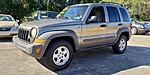 Used 2007 JEEP LIBERTY SPORT 4X4 in JACKSONVILLE, FLORIDA