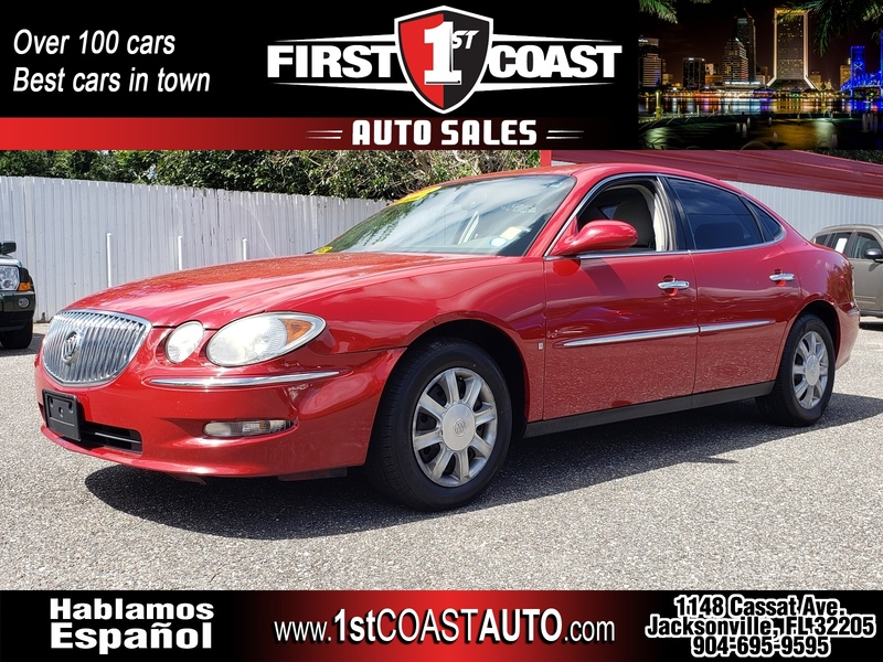 USED 2008 BUICK LACROSSE CX in JACKSONVILLE, FLORIDA