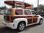 USED 2009 CHEVROLET HHR LS WOODY in JACKSONVILLE, FLORIDA (Photo 8)