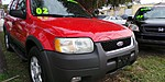 USED 2002 FORD ESCAPE XLT 4X4 in PORT ST. LUCIE, FLORIDA