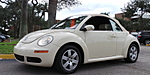 USED 2007 VOLKSWAGEN NEW BEETLE 2.5L PACKAGE 1 in STUART, FLORIDA