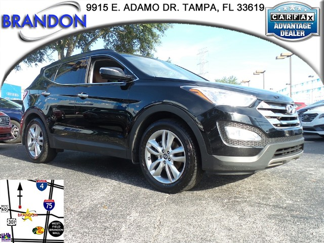 2013 HYUNDAI SANTA FE 20T SPORT WSADDLE INT  4-wheel anti-lock brakes ABS -inc electronic bra