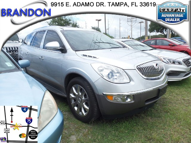 2010 BUICK ENCLAVE CXL W2XL  Brakes 4-wheel antilock 4-wheel discAir bags dual-stage frontal