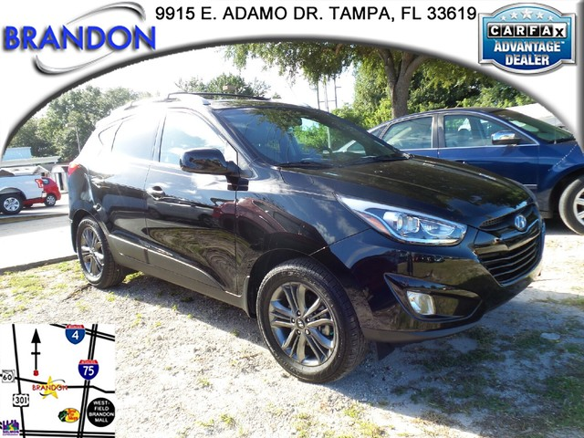 2014 HYUNDAI TUCSON SE  Electronic Stability Control ESCABS And Driveline Traction ControlSide
