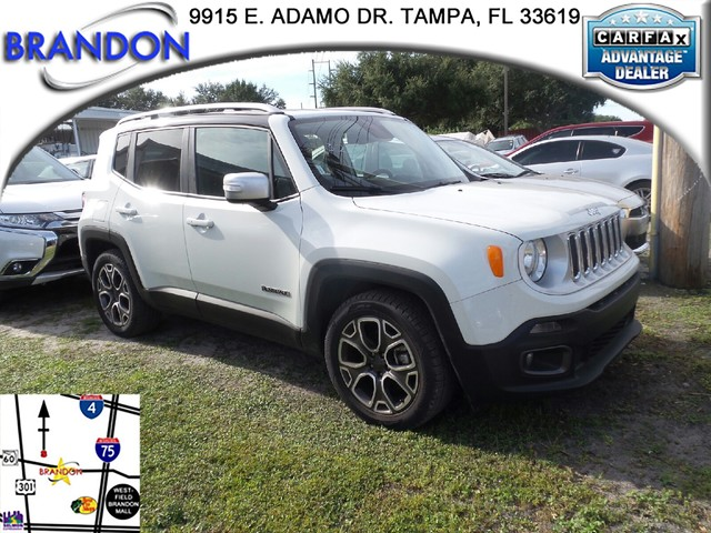 2016 JEEP RENEGADE LIMITED  Electronic Stability Control ESC And Roll Stability Control RSCAB