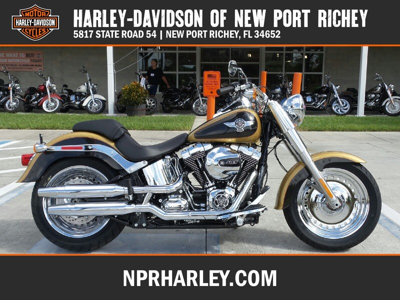 NEW 2017 HARLEY-DAVIDSON FLSTF SOFTAIL FAT BOY  in NEW PORT RICHEY, FLORIDA