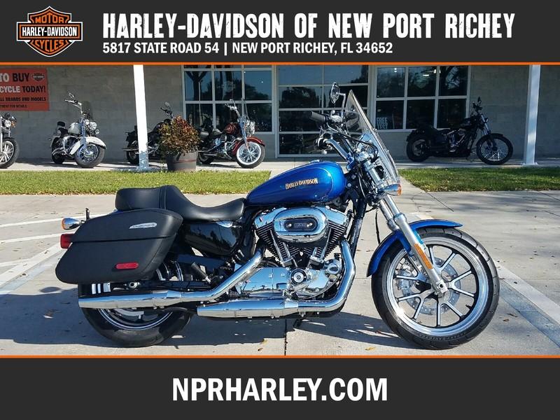 NEW 2017 HARLEY-DAVIDSON XL1200T SPORTSTER SUPERLOW XL1200T  in NEW PORT RICHEY, FLORIDA