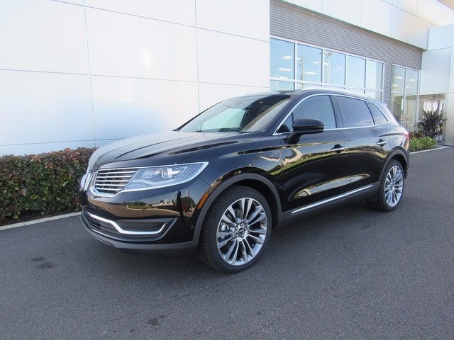 New 2017 Lincoln MKX, $52840