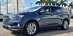 USED 2019 FORD EDGE TITANIUM in LAKE WORTH, FLORIDA