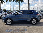 USED 2019 FORD EDGE TITANIUM WITH PANORAMIC VISTA ROOF in LAKE WORTH, FLORIDA (Photo 2)